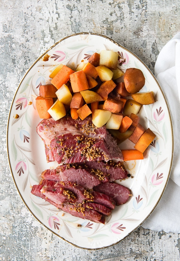 Beef Brisket Instant Pot  Instant Pot Corned Beef Brisket Easy and Faster Cooking
