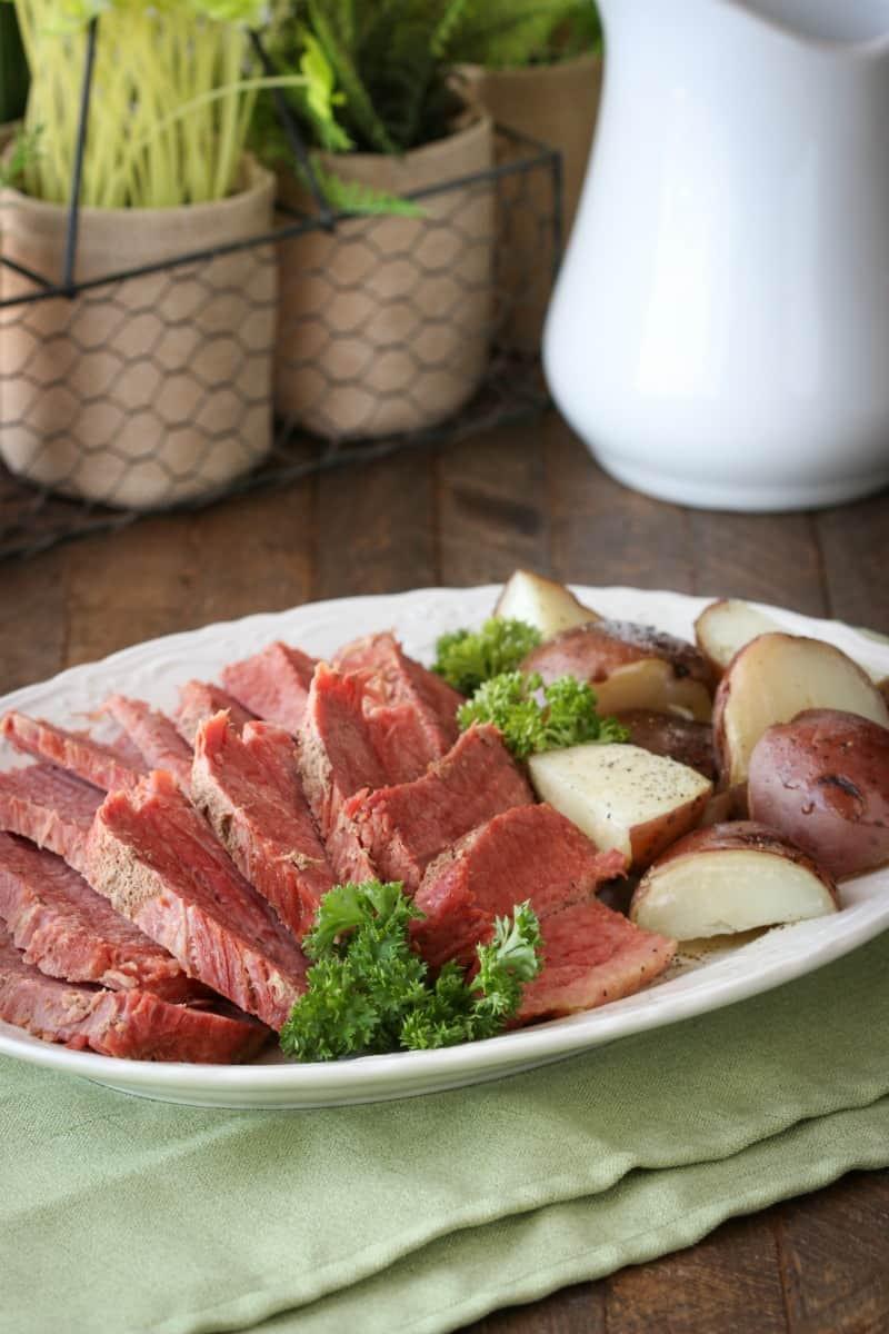 Beef Brisket Instant Pot  Instant Pot Corned Beef