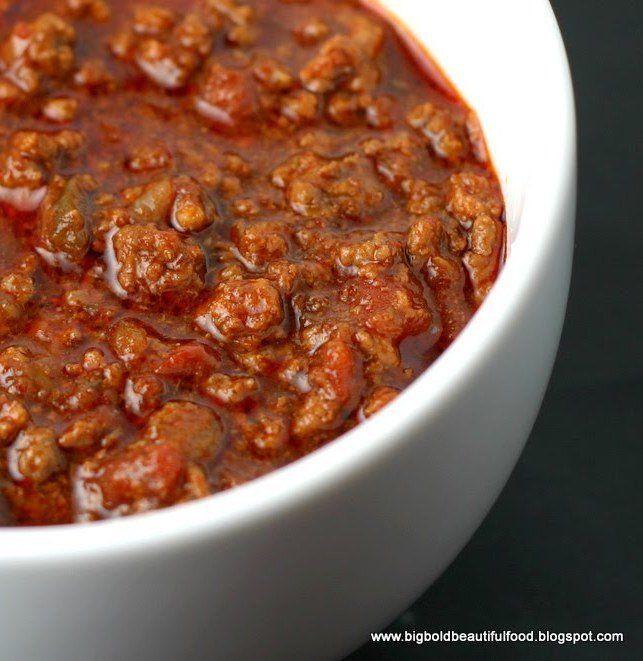 Beef Chili Recipe  best ground beef chili recipes