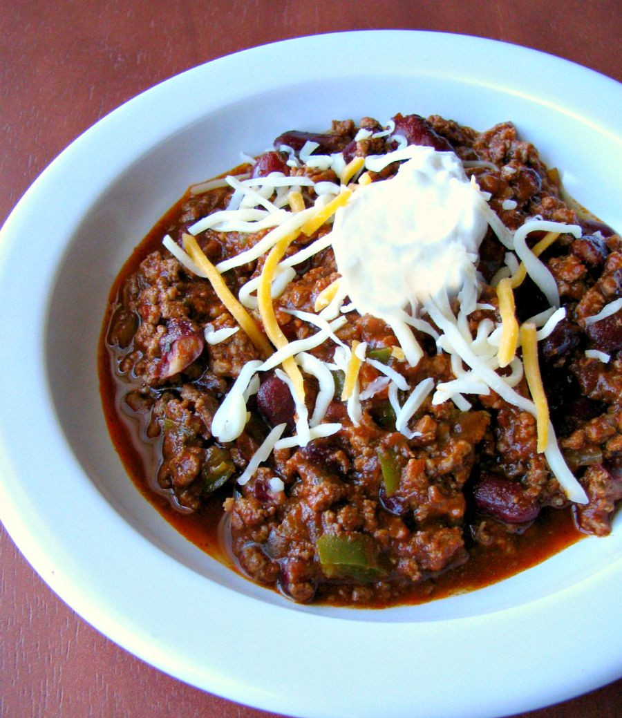 Beef Chili Recipe  Award Winning Chili Recipe Rants From My Crazy Kitchen