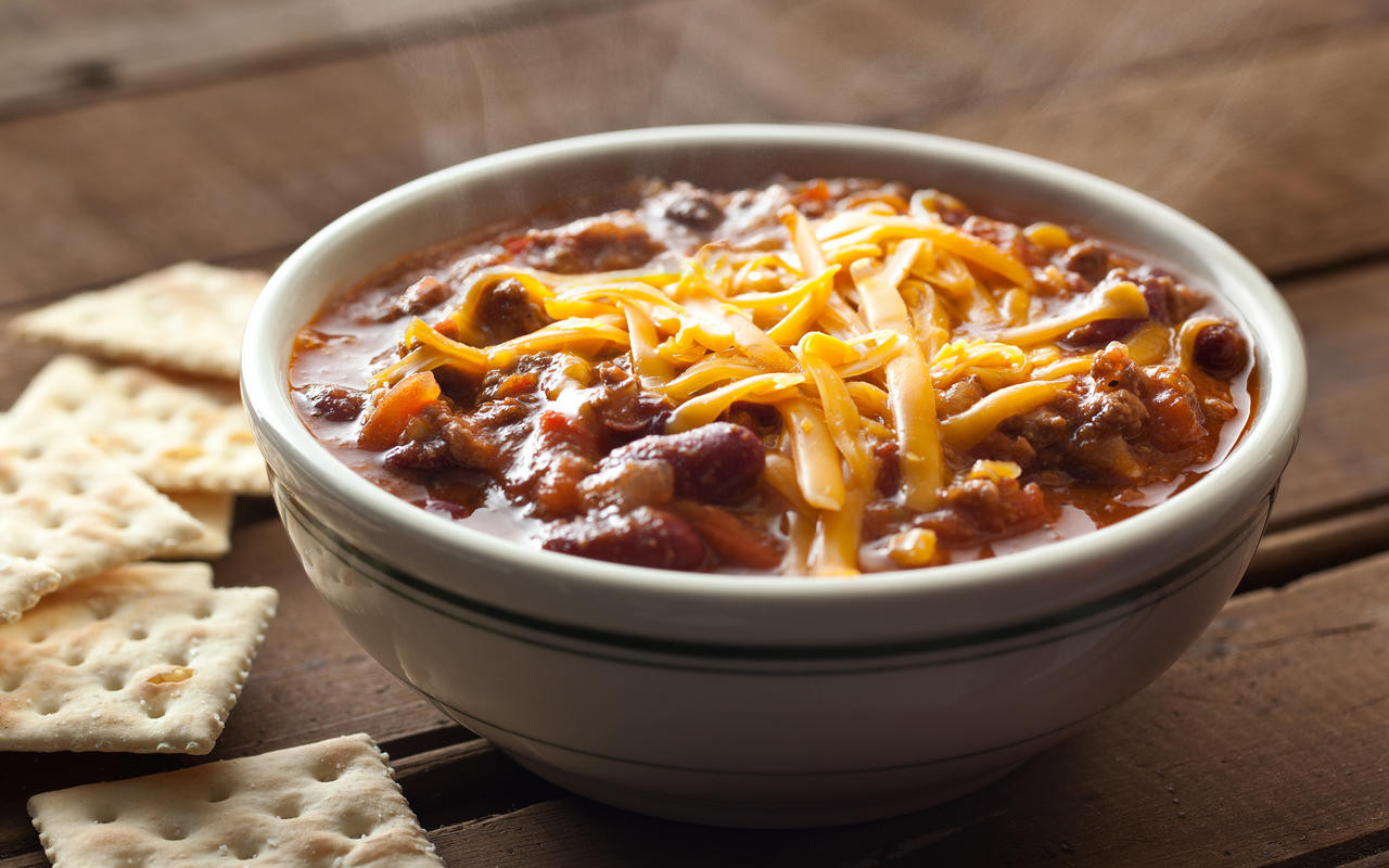 Beef Chili Recipe  Crock Pot Chili Recipe Chowhound