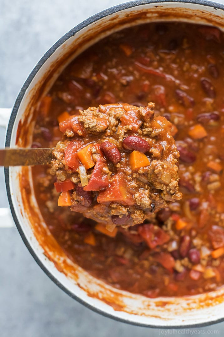 Beef Chili Recipe  30 Minute Beef Chili Recipe
