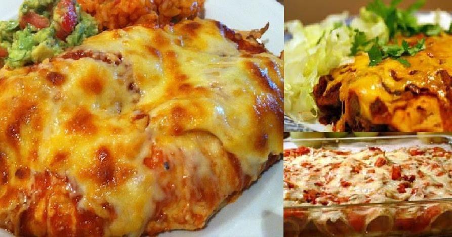 Beef Enchiladas With Corn Tortillas  Gina s Favorites Beef Enchiladas