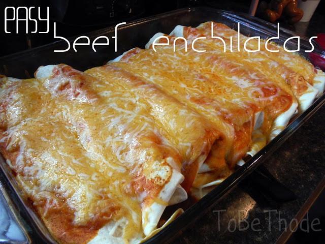 Beef Enchiladas With Corn Tortillas  Easy Beef Enchiladas ToBeThode
