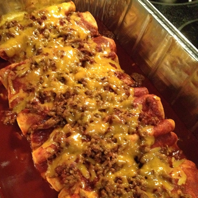 Beef Enchiladas With Corn Tortillas  408 best images about Mexican Food on Pinterest
