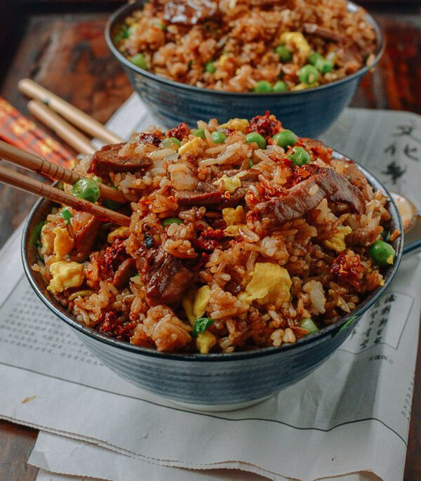 Beef Fried Rice  Classic Beef Fried Rice A Chinese Takeout Recipe The