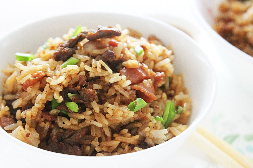 Beef Fried Rice  Chinese Style Beef Fried Rice