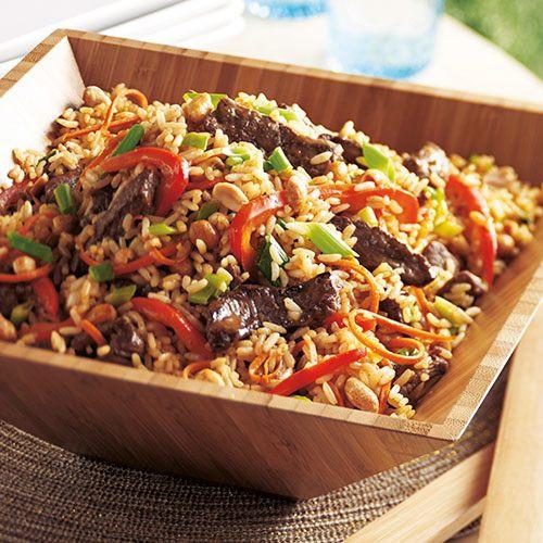 Beef Fried Rice  Teriyaki Beef Fried Rice Recipes