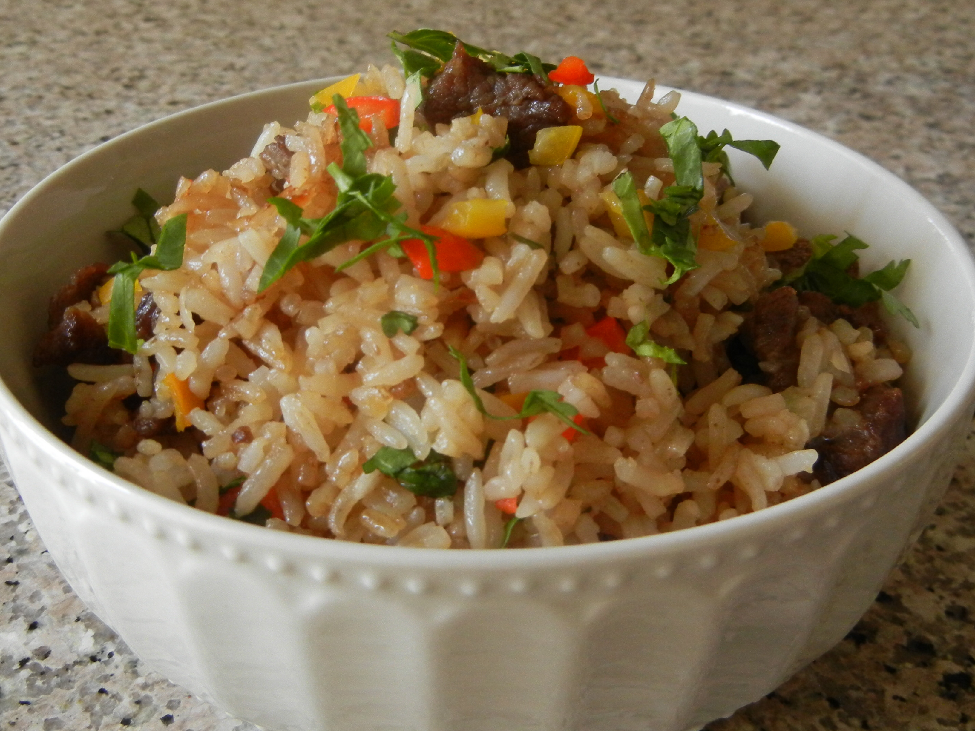 Beef Fried Rice  Sweet and Savory Beef Fried Rice