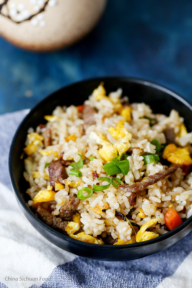 Beef Fried Rice  Beef Fried Rice