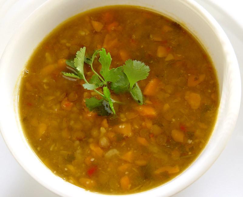 Beef Lentil Soup  Slow Carb Beef and Lentil Soup