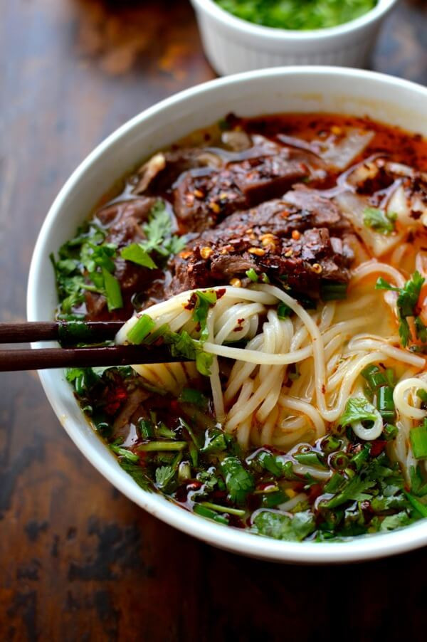 Beef Noodle Soup  Lanzhou Beef Noodle Soup The Woks of Life