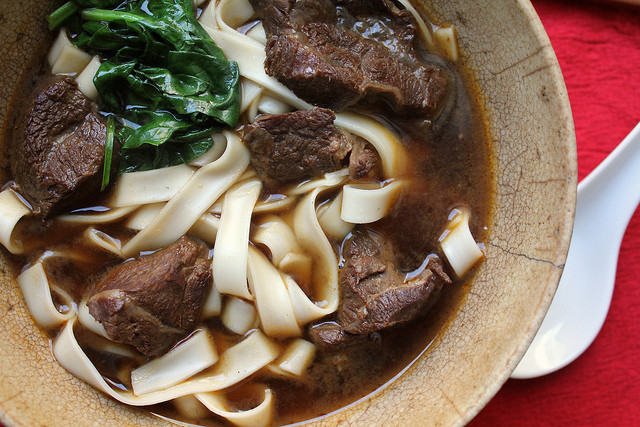 Beef Noodle Soup  Taiwanese Beef Noodle Soup Recipe