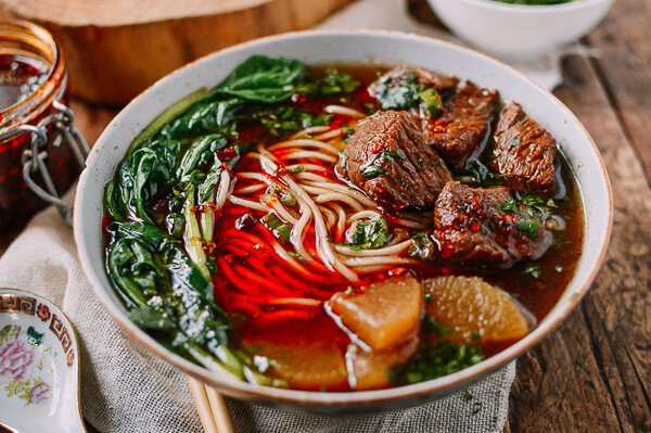Beef Noodle Soup  Braised Beef Noodle Soup 红烧牛肉面 The Woks of Life