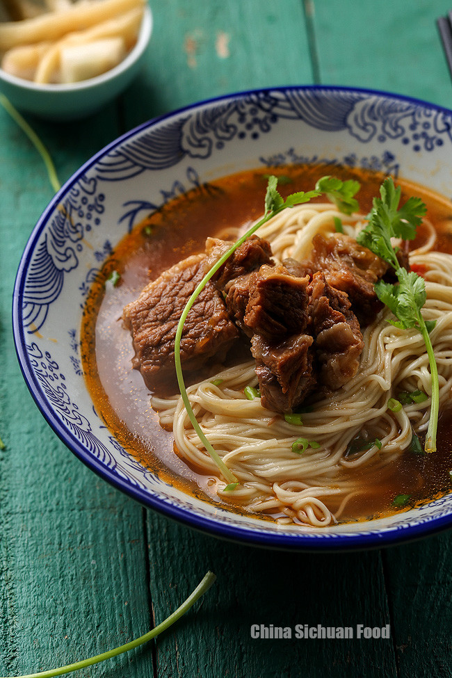 Beef Noodle Soup  Chinese Beef Noodle Soup