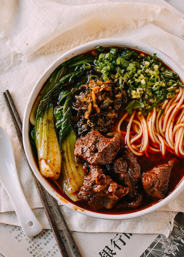 Beef Noodle Soup  Taiwanese Beef Noodle Soup In an Instant Pot on the Stove