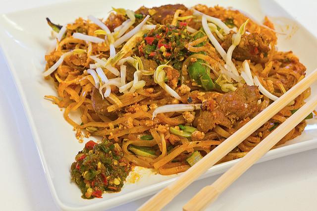 Beef Pad Thai  Beef Pad Thai PSIMG 0147web