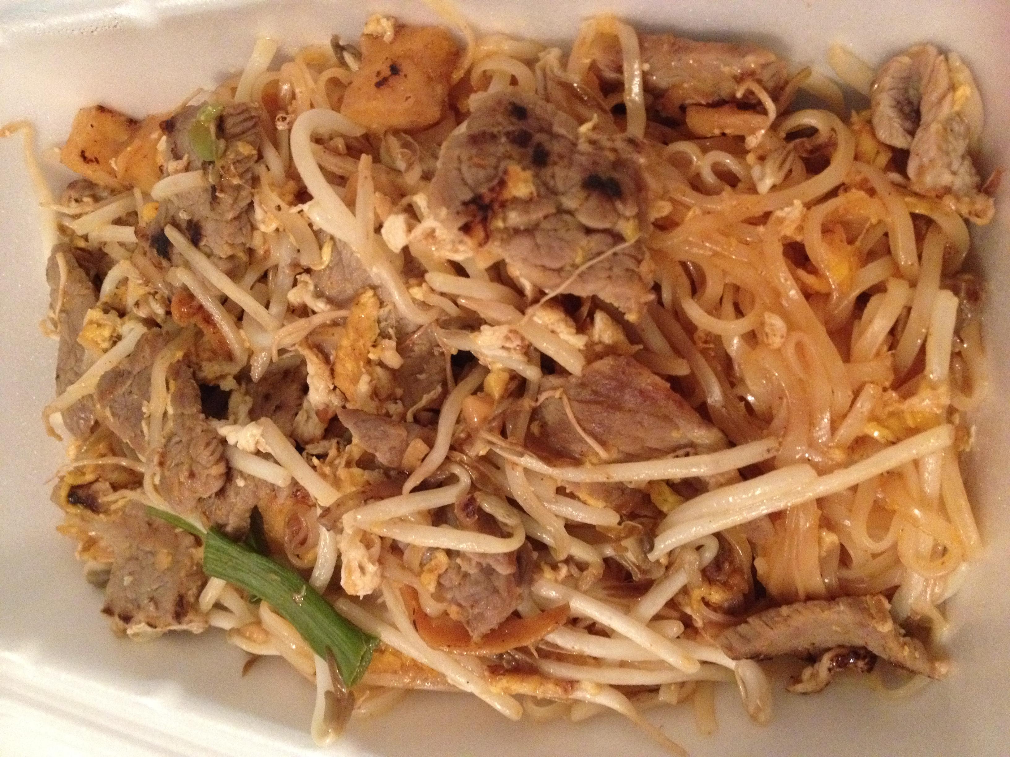 Beef Pad Thai  thai