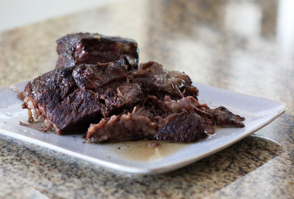 Beef Ribs Crock Pot  Crock Pot Braised Beef Short Ribs With Red Wine