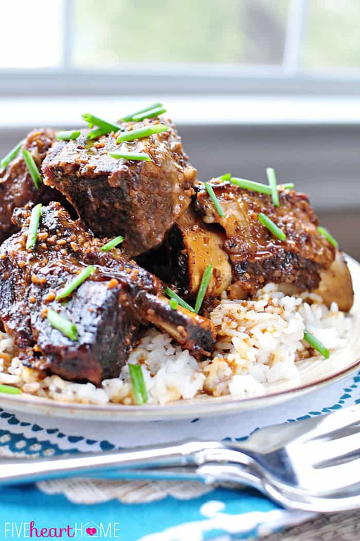 Beef Ribs Crock Pot  Slow Cooker Asian Beef Short Ribs