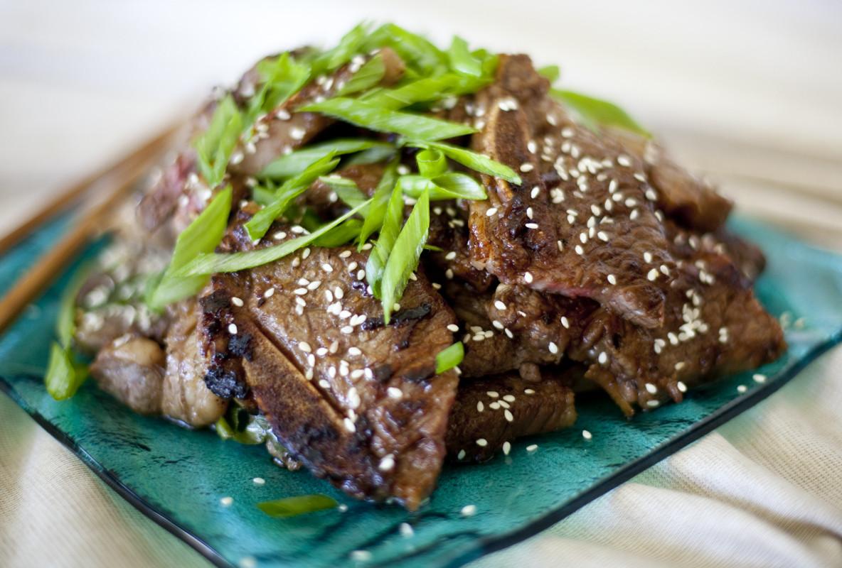 Beef Ribs Recipes  Korean Short Ribs Recipe Kalbi Beef Eating Richly
