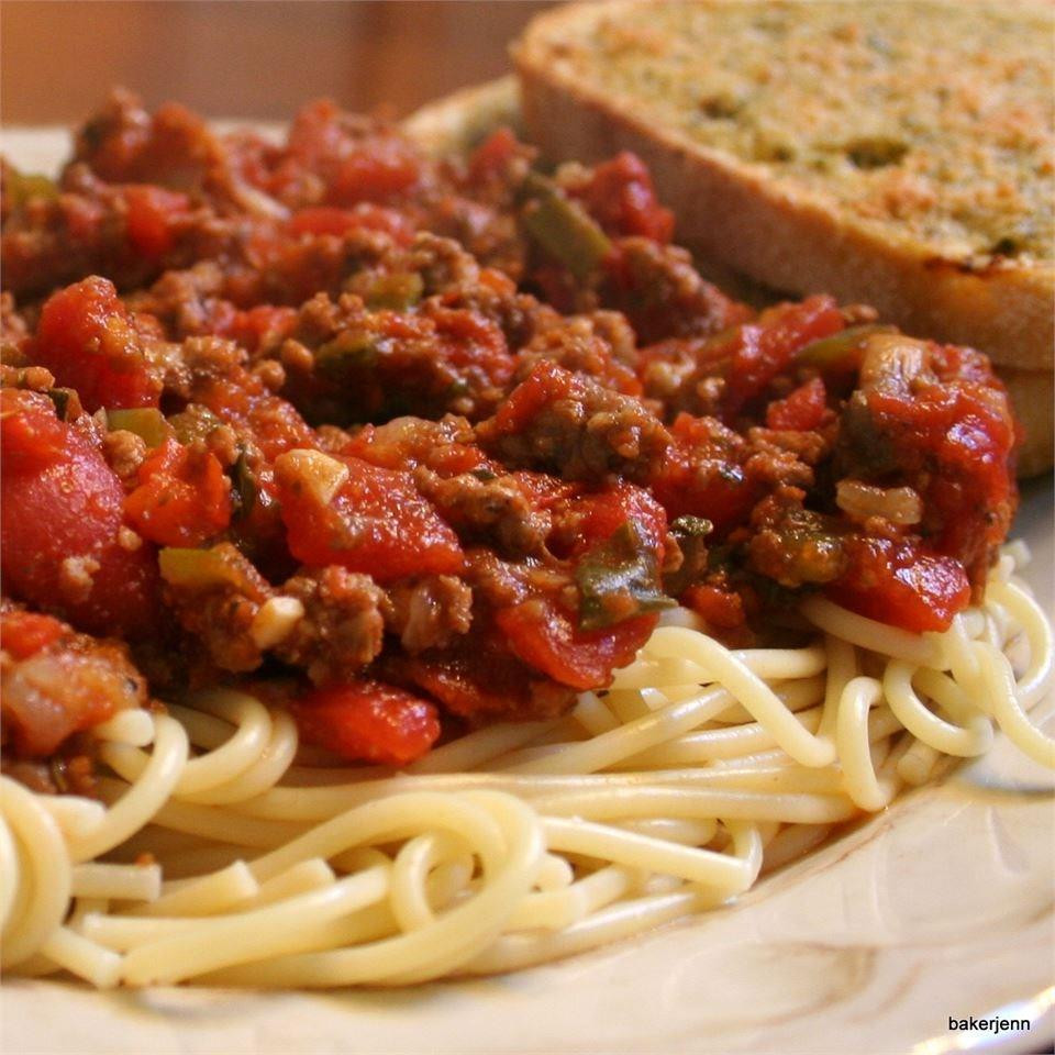 Beef Sausage Recipes  Beautiful beef sausage and ve able pasta sauce recipe