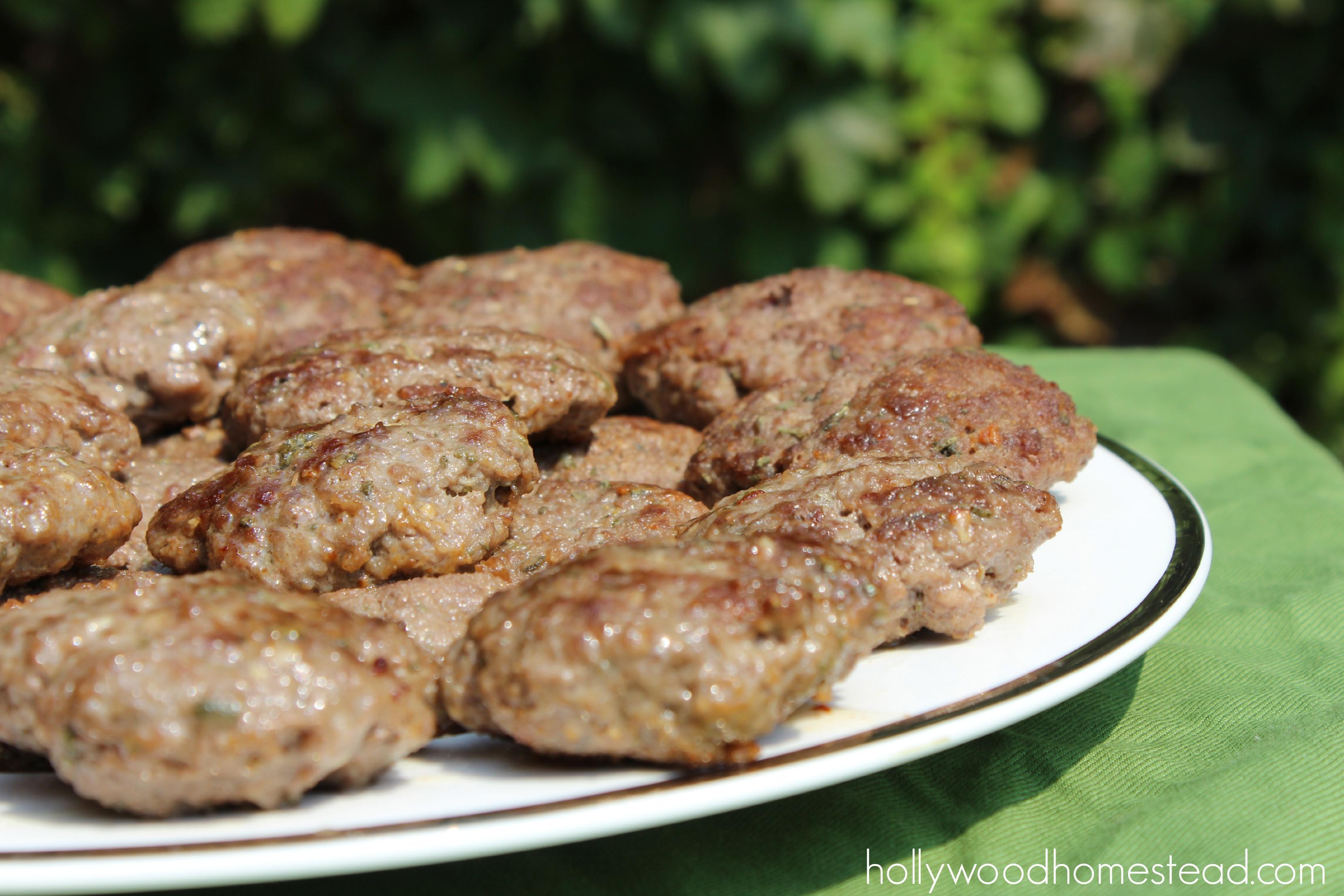 Beef Sausage Recipes  Paleo Beef Breakfast Sausage Recipe Hollywood Homestead