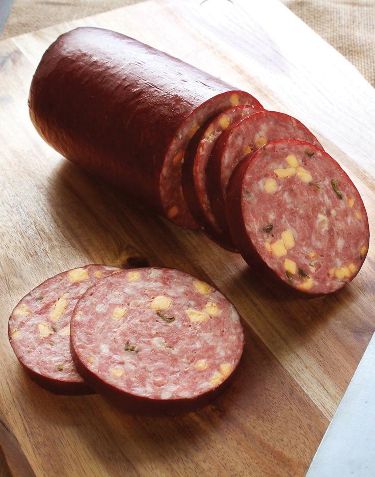 Beef Sausage Recipes  homemade beef or deer salami