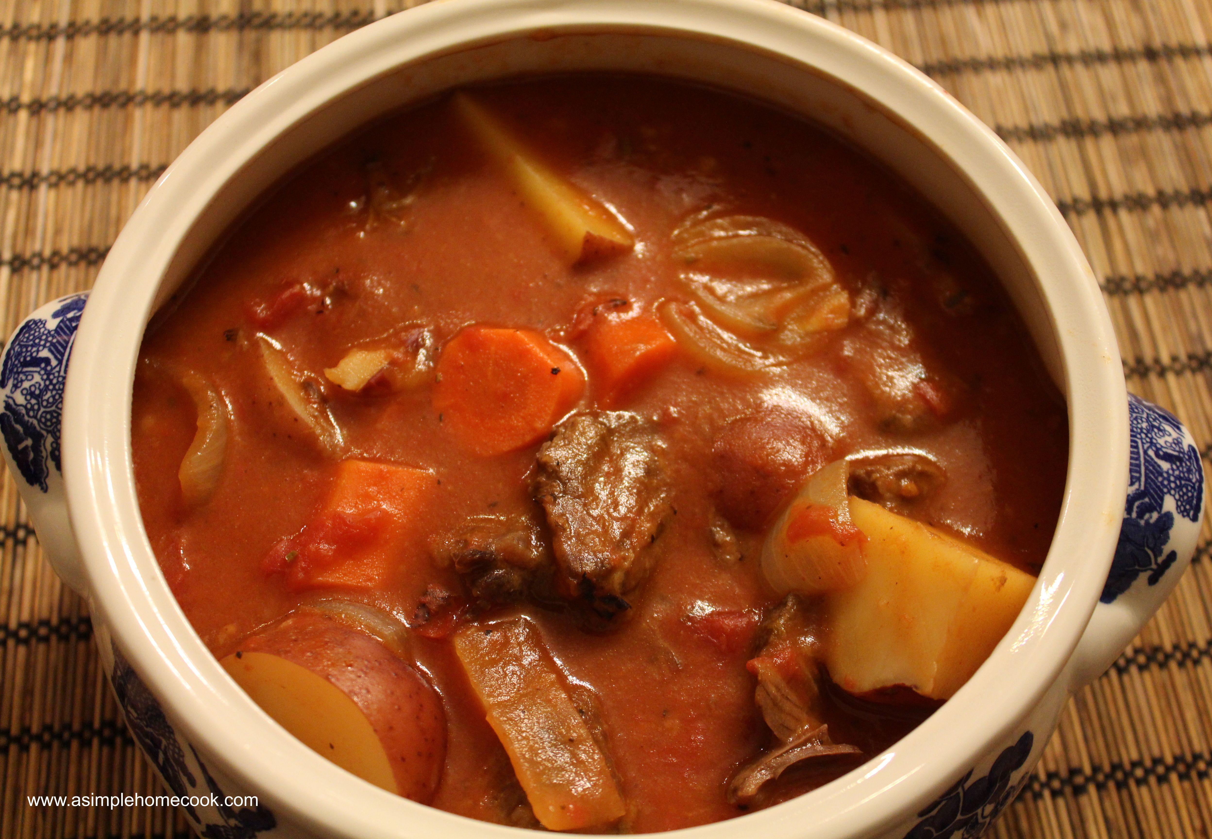 Beef Shank Stew  Beef Shank Stew
