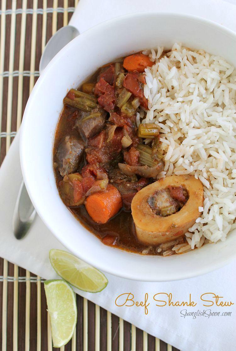 Beef Shank Stew  Beef Shank Stew Spanglish Spoon