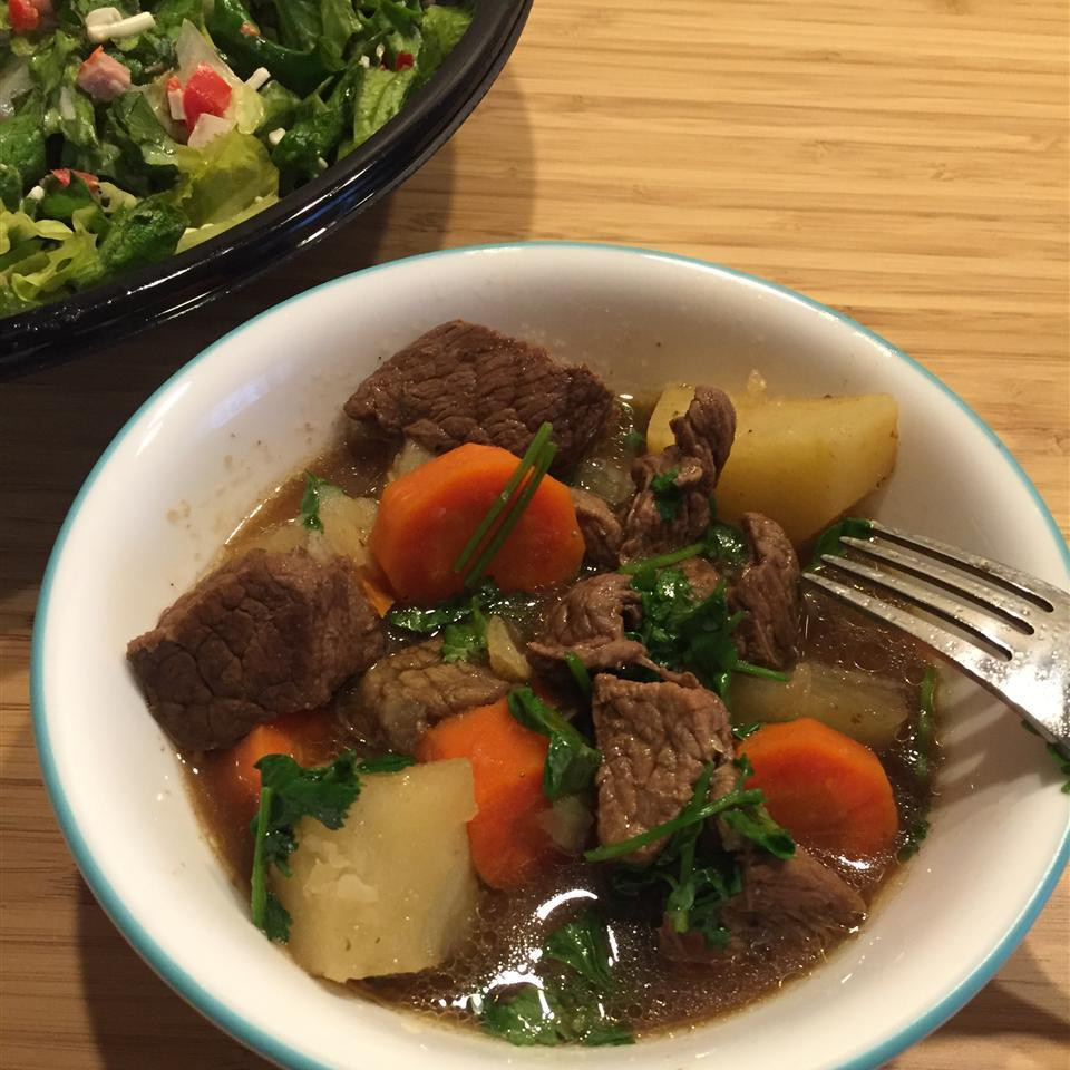 Beef Stew Allrecipes  Simple beef stew recipe All recipes UK