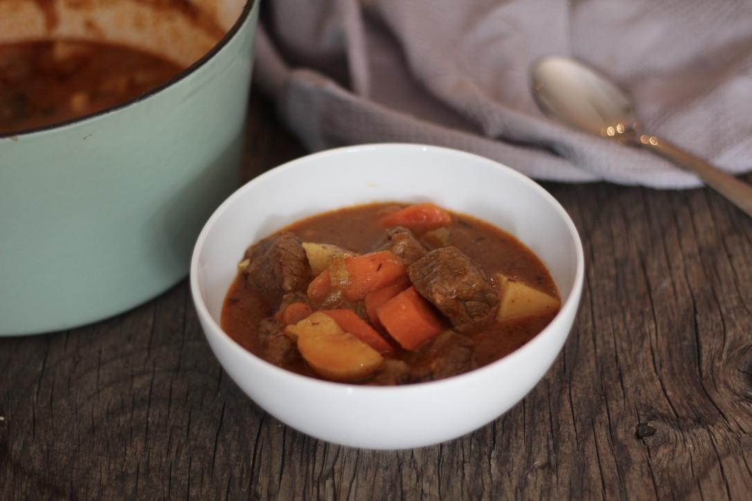 Beef Stew Calories  Simple Beef Stew Stephanie Kay Nutrition