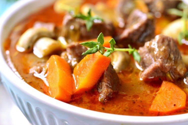 Beef Stew Calories  Crock Pot Low Fat Beef Stew Recipe