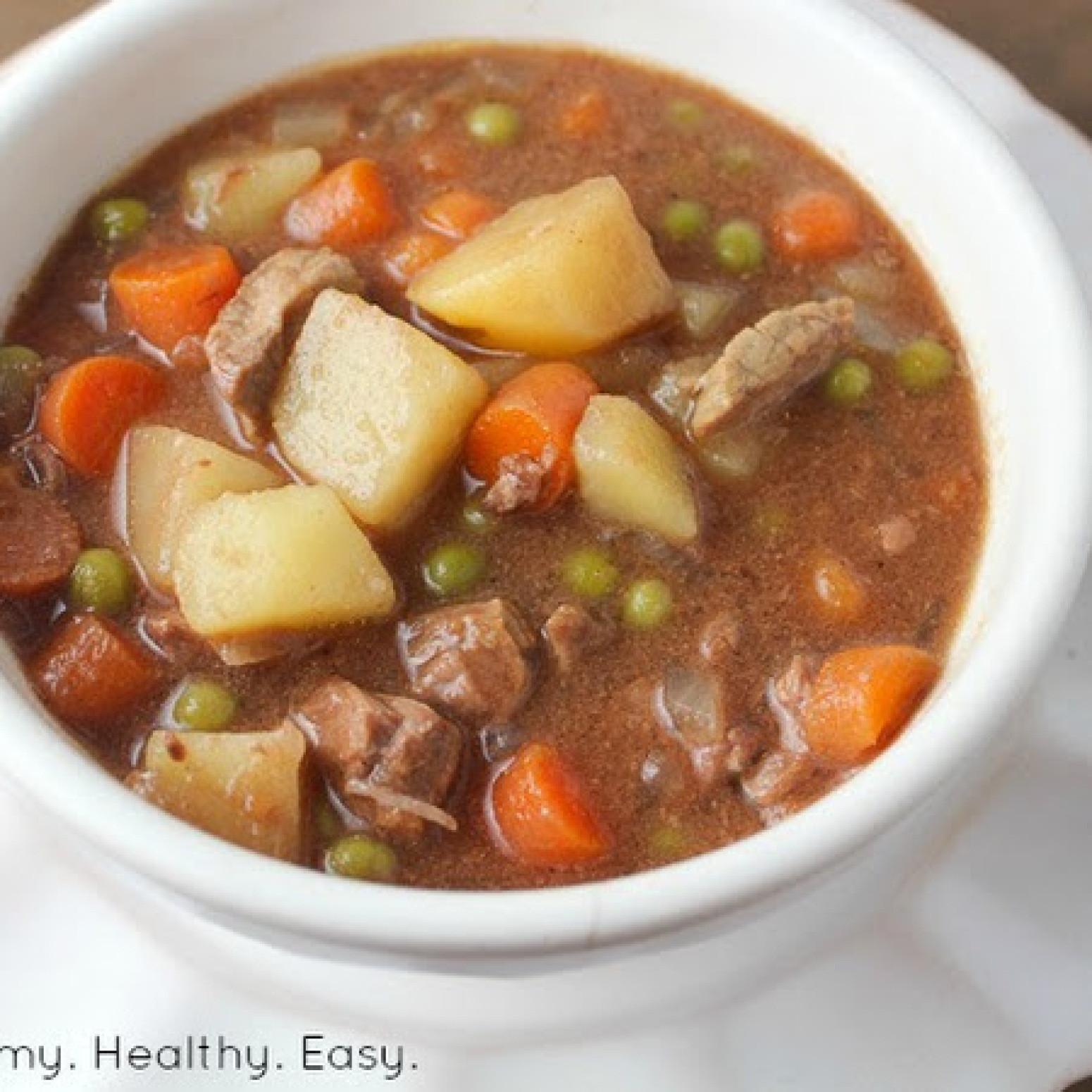 Beef Stew Crock Pot Recipes  Simple Crock Pot Beef Stew Recipe