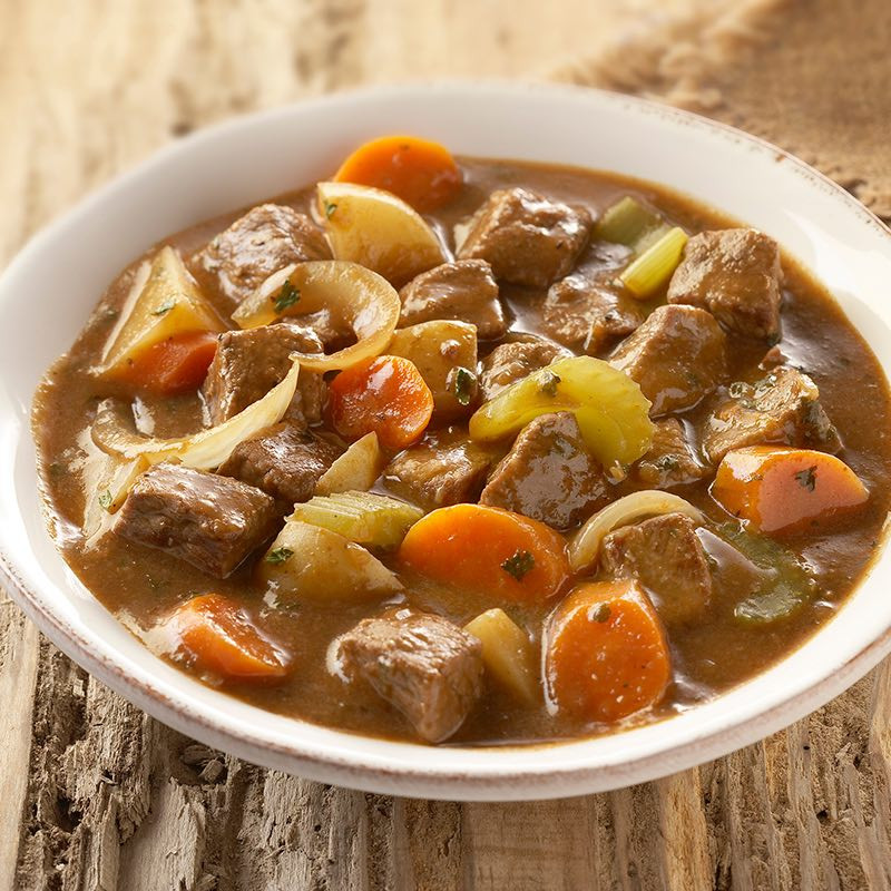 Beef Stew In Crockpot  Slow Cooked Beef Stew