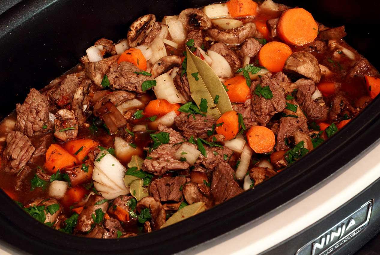 Beef Stew In Crockpot  Slow Cooker Paleo Beef Stew Recipe
