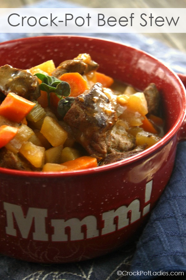 Beef Stew Recipes Crock Pot  Crock Pot Beef Stew Crock Pot La s