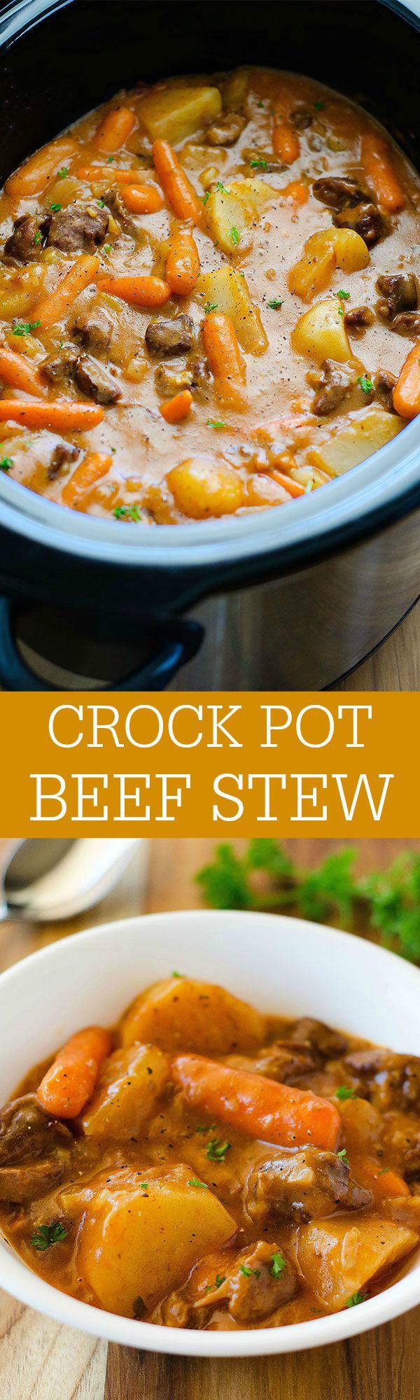 Beef Stew Recipes Crock Pot  Crock Pot Beef Stew