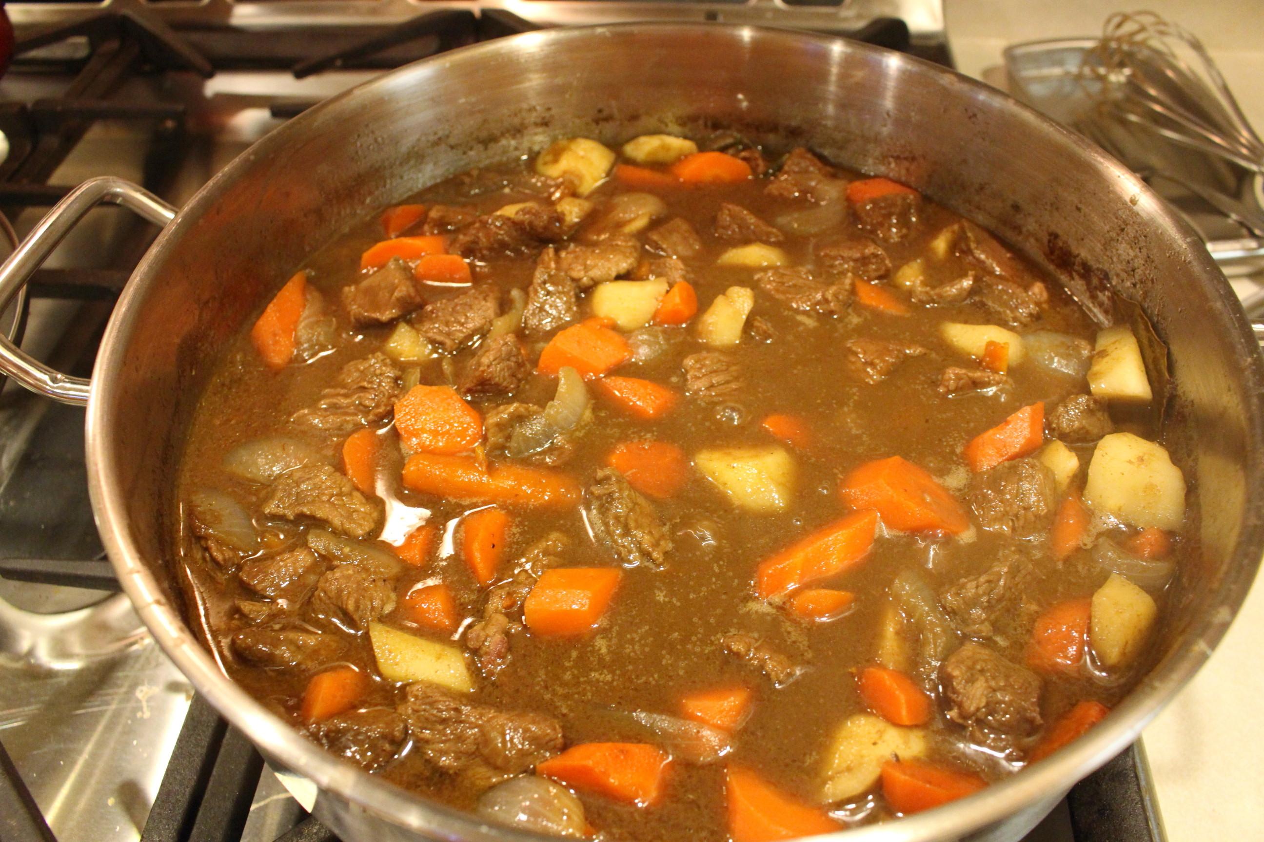 Beef Stew Stove Top  stove top beef stew