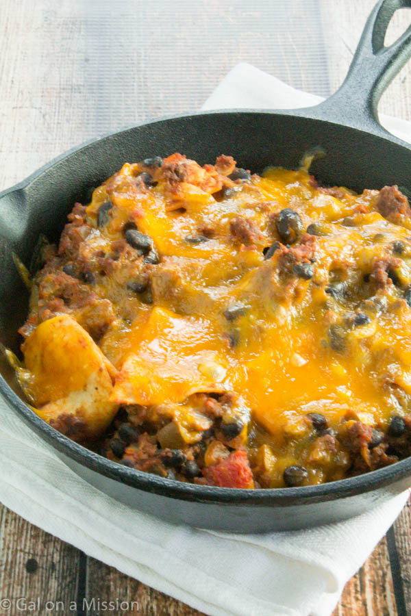 Beef Taco Casserole  Beef Taco Skillet Casserole Gal on a Mission