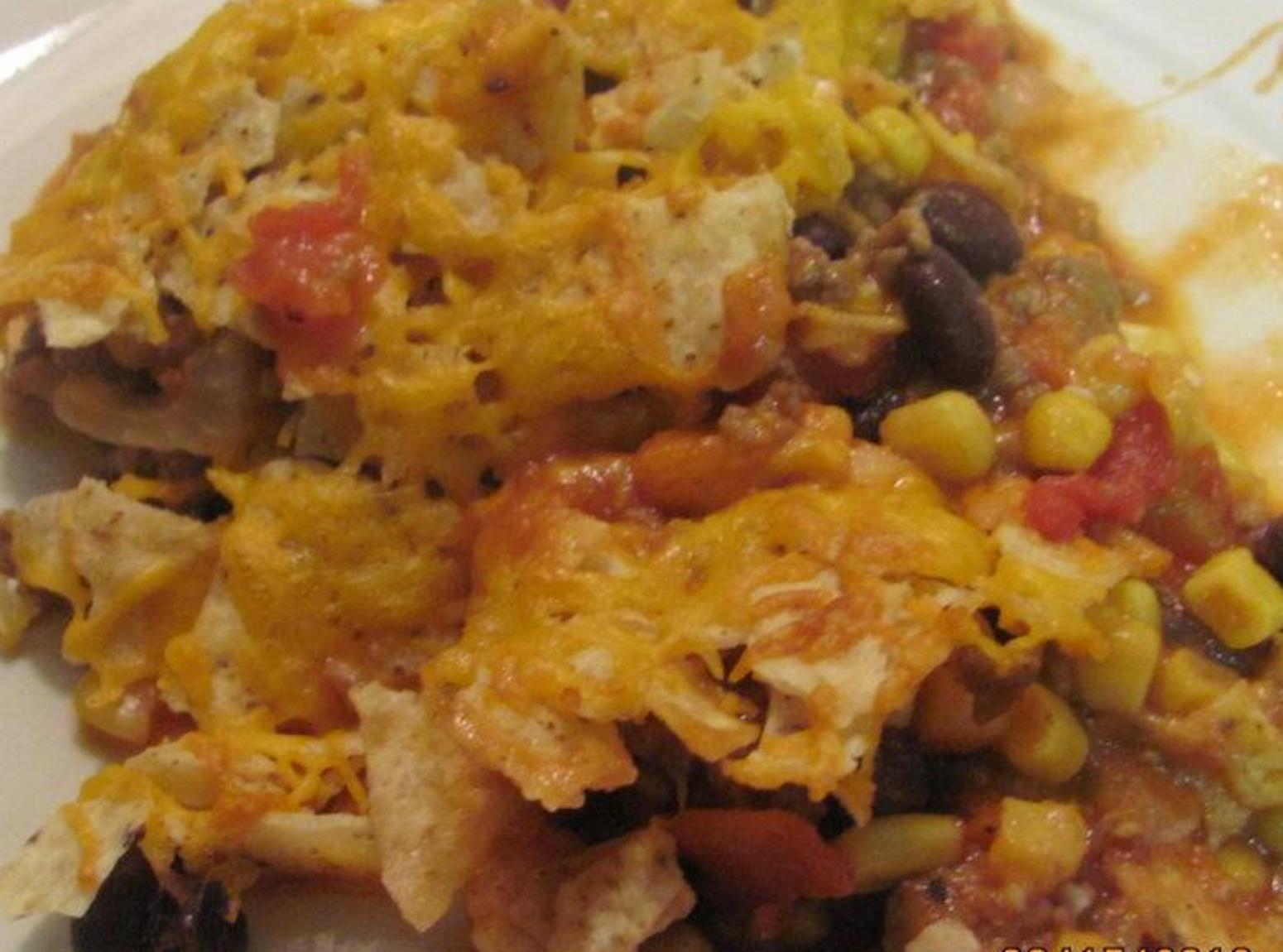 Beef Taco Casserole  Taco Beef Casserole Recipe