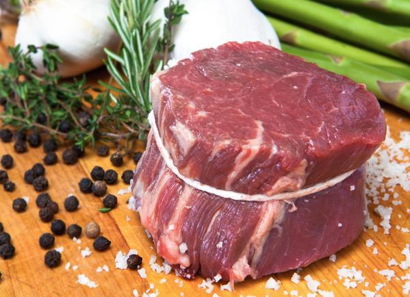 Beef Tenderloin Filet Mignon  Grass Fed Tenderloin Steaks Filet Mignon 4 Pack