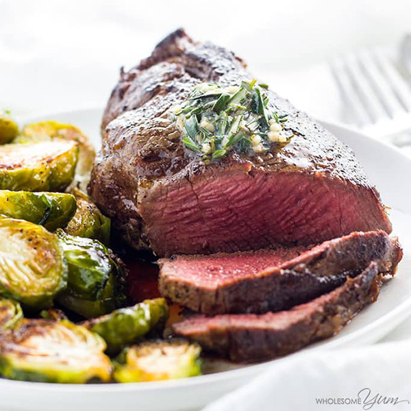 Beef Tenderloin Filet Mignon  14 Healthy Low Carb Steak Recipes That Are Totally Droolworthy