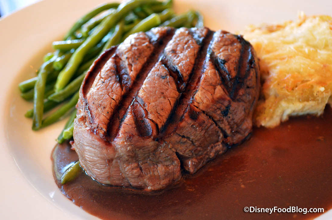 Beef Tenderloin Grill  Review Updated Menu at Chefs de France in Epcot