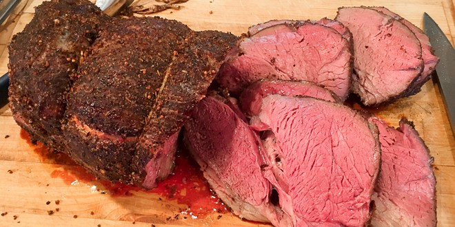 Beef Top Sirloin  Smoked Top Sirloin Roast Recipe for Electric Smoker