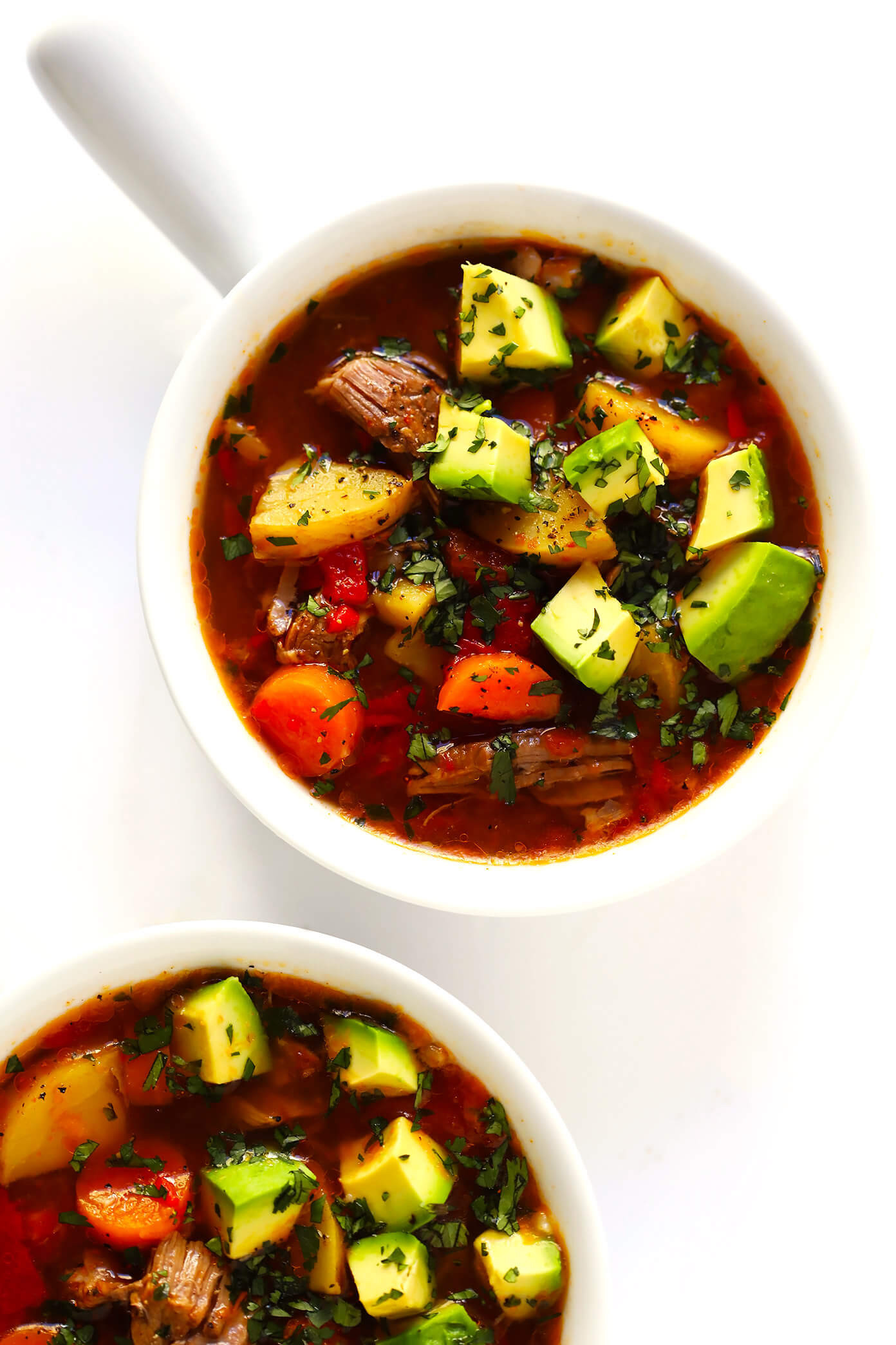 Beef Vegetable Soup  Mexican Ve able Beef Soup