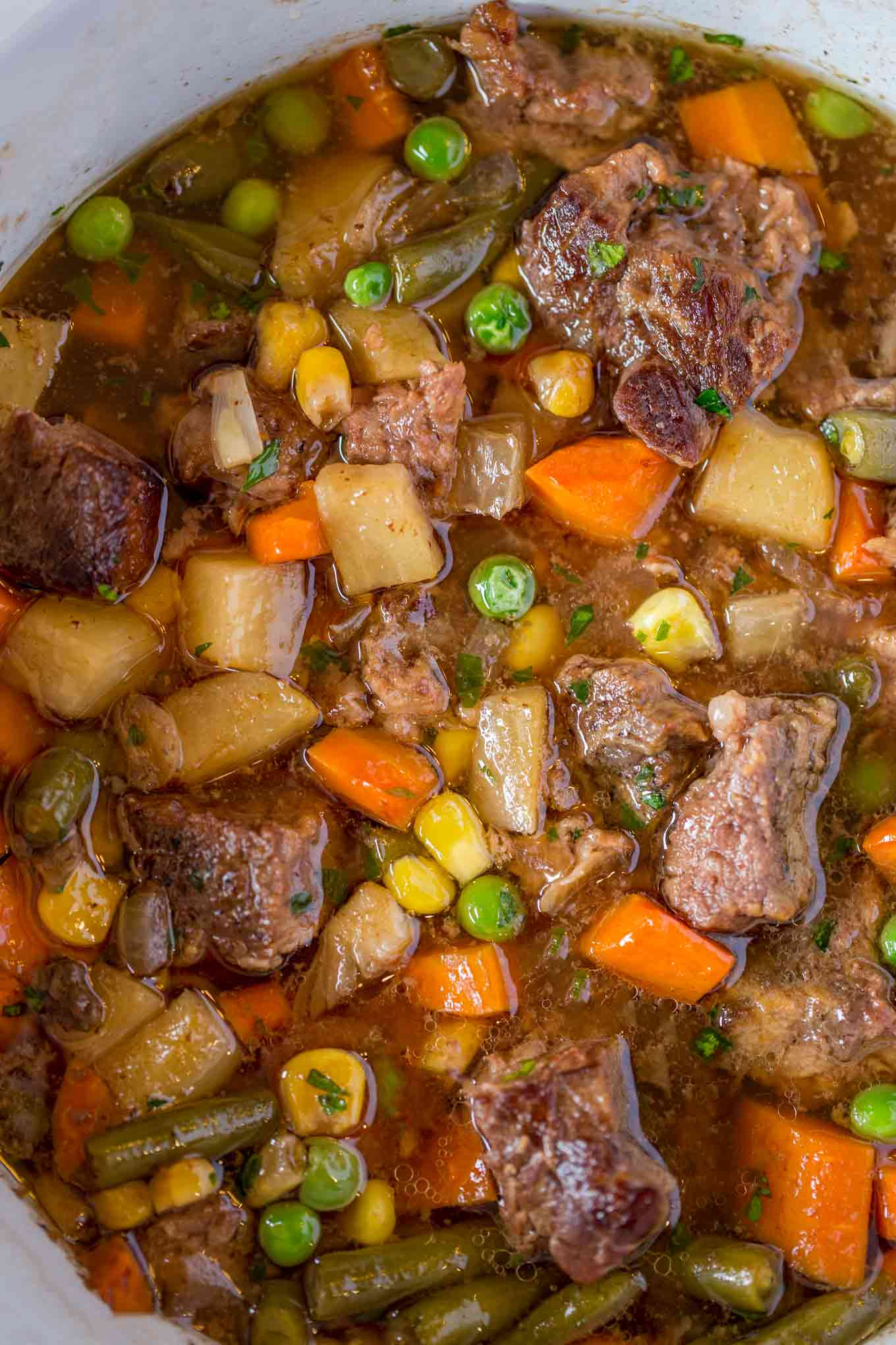 Beef Vegetable Soup  Slow Cooker Ve able Beef Soup Dinner then Dessert