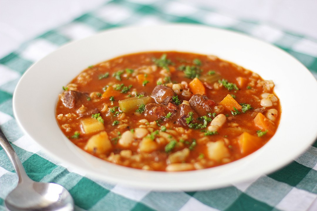 Beef Vegetable Soup  Ve able Beef Barley Soup Ang Sarap