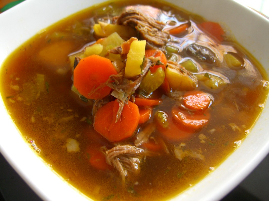 Beef Vegetable Soup  Beef Brisket Ve able Soup Recipe