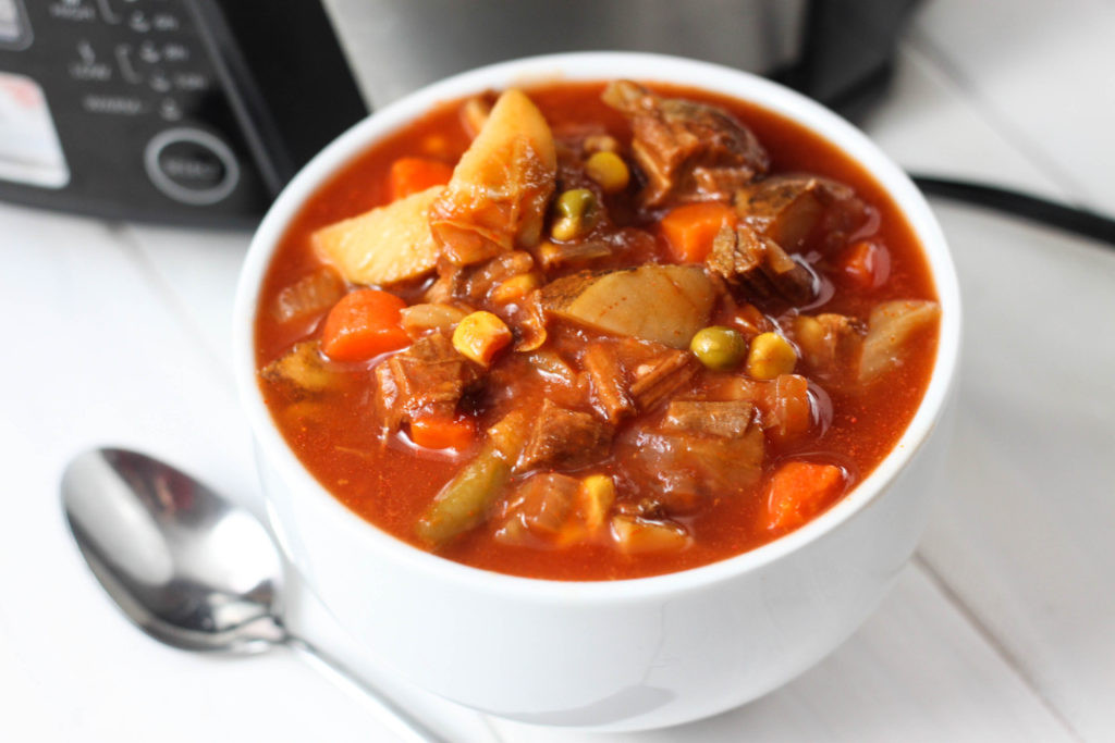 Beef Vegetable Soup  Ve able Beef Soup The Farmwife Cooks